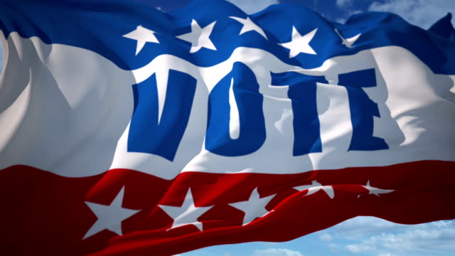 vote usa american election - voting stock videos & royalty-free footage
