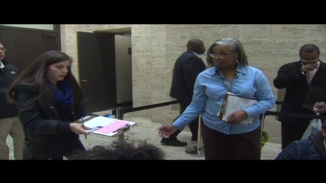 vídeos de stock, filmes e b-roll de voter registration materials on october 09 2012 in chicago illinois - título de eleitor