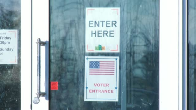 voters arrive to cast their ballots in kenosha, in the battleground state of wisconsin, as polls open in the us presidential race on election day - cast member stock videos & royalty-free footage