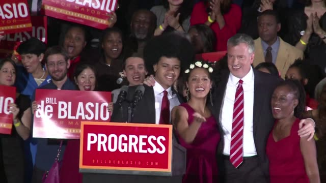 Voters in New York pick Bill de Blasio to be the citys first Democratic mayor in a generation in one of a handful of elections seen as having...