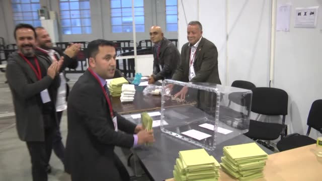 Voting for Turkish expats in Belgium ended on TuesdayThe voting for Turkey's parliamentary and presidential elections at polling stations in in...