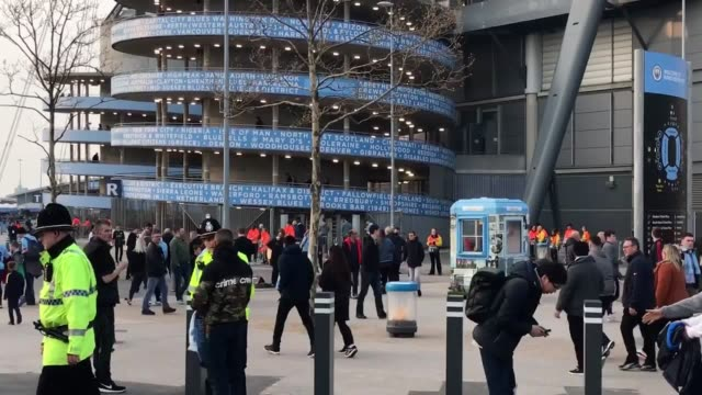 Voxes with Tottenham and Man City fans ahead of their Champions League quarter final second leg tie