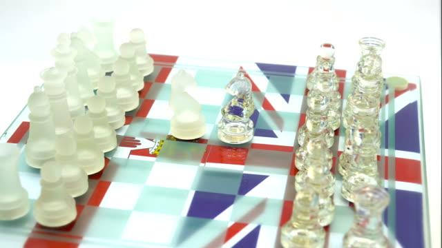 イギリス vs 北アイルランド - 囲む点の映像素材/bロール