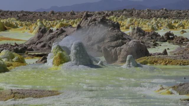 vulkan_tag1 - sulphur stock videos & royalty-free footage