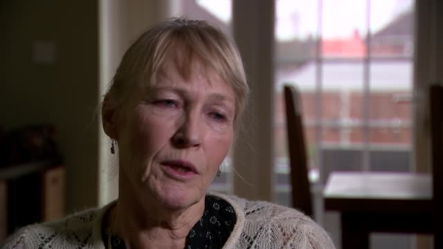 Vulnerable patients at risk because of savings on continuing healthcare Carolyn Bailey interviewed SOT Bailey showing ITN Reporter paperwork...