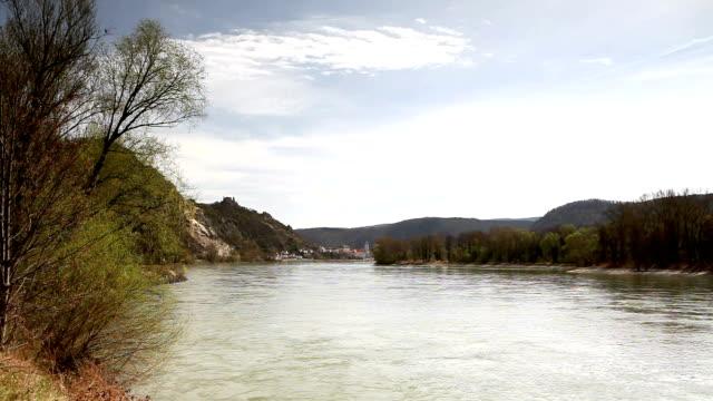 Wachau at danube river