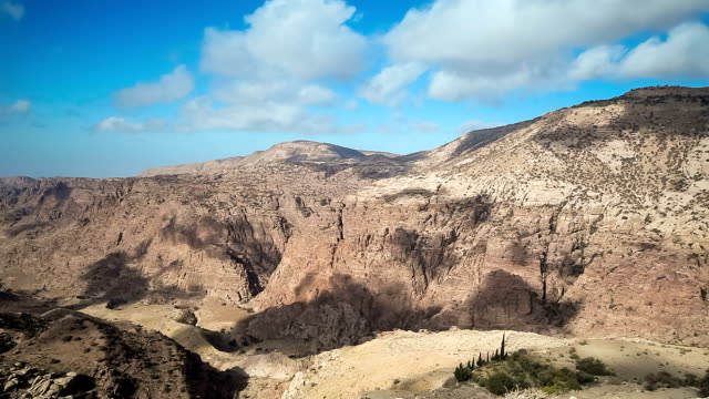 wadi dana biosphere reserve - jordan - named wilderness area stock videos & royalty-free footage
