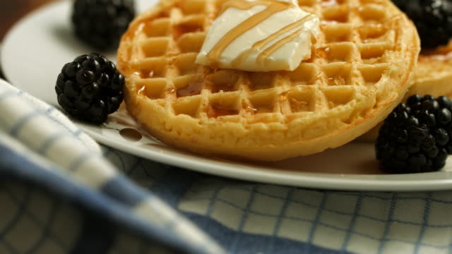 waffles! - waffles stock videos and b-roll footage