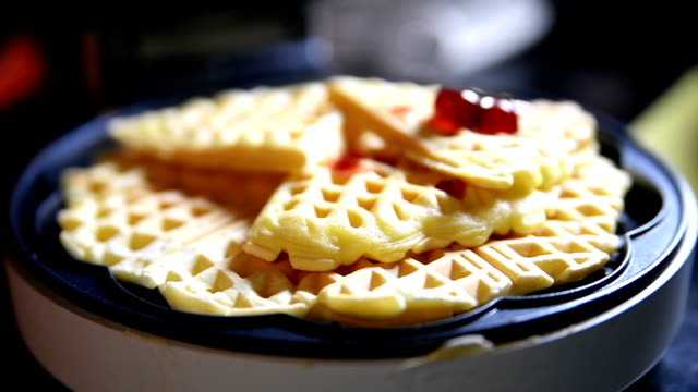waffles - waffles stock videos and b-roll footage