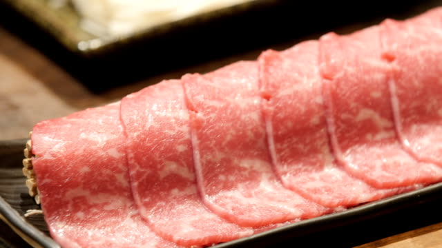 wagyu beef - filleted stock videos & royalty-free footage