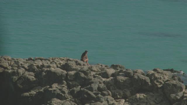 waiameha bay; sev'l takes & views - pacific islands stock videos & royalty-free footage