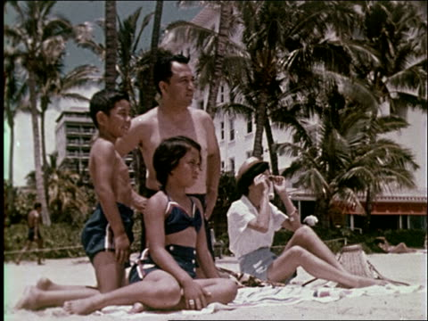 1959 waikiki beach - 1950 1959 stock videos & royalty-free footage