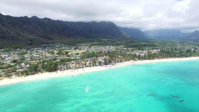 Waimanalo, Hawaii, aerial