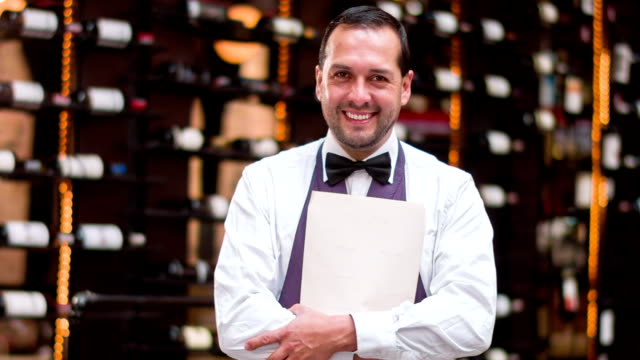 Waiter at a restaurant