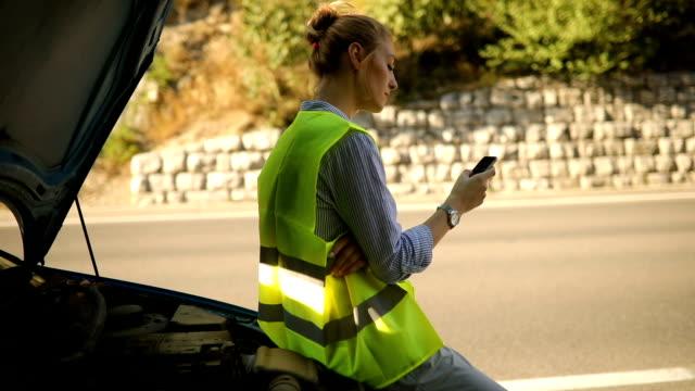 Waiting for roadside help