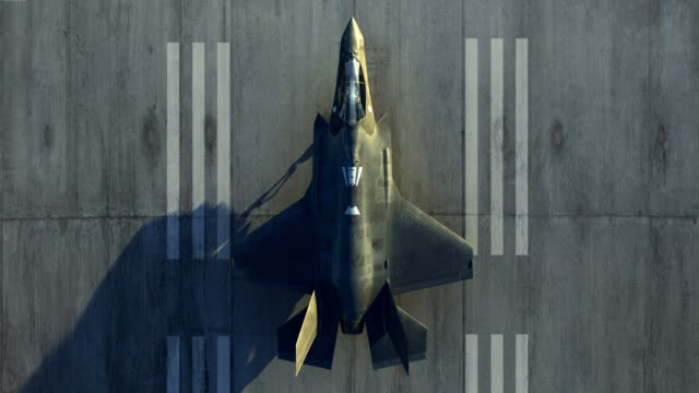waiting on runway - fighter stock videos & royalty-free footage