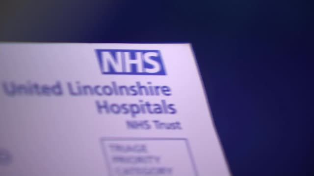 AE waiting times in Wales are worst since March and well below target ENGLAND Lincolnshire Lincoln County Hospital Close shot 'United Lincolnshire...