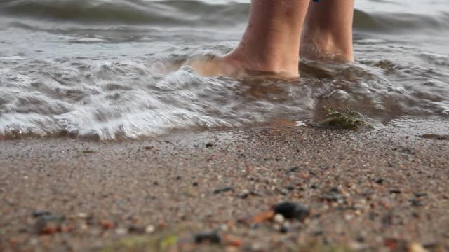 waiting - walking in water stock videos & royalty-free footage