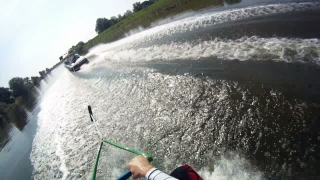 wakeboarding - wakeboarding stock videos and b-roll footage