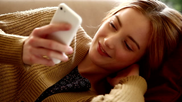 waking for a text message. - portable information device stock videos & royalty-free footage
