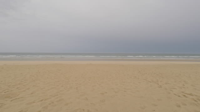 walk on the beach - cap ferret stock videos & royalty-free footage