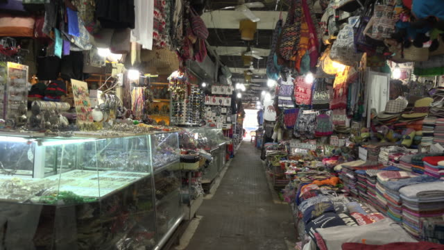pov / a walk through a bazaar in old market in downtown siem reap - cambodia stock videos & royalty-free footage