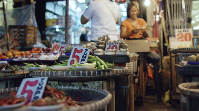 walk through open air market in manila - choosing stock videos & royalty-free footage