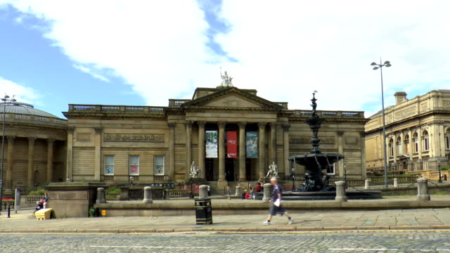 walker art gallery - liverpool, england - liverpool england stock videos & royalty-free footage