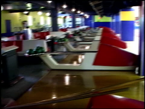 POV of Walking Around Bowlmor Lanes Bowling Alley in NYC