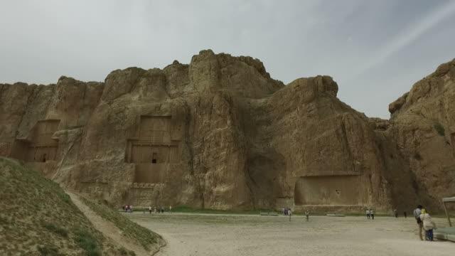 Walking around Naqsh-e Rustam, Iran