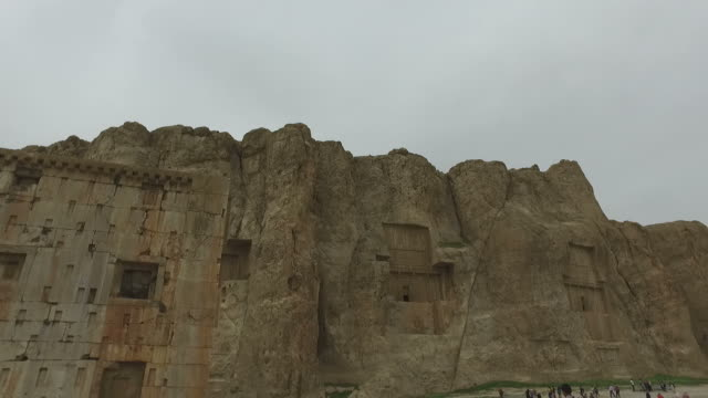 Walking around Naqsh-e Rustam, Iran