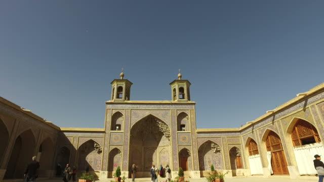 Walking around Nasir Al-Mulk Mosque (Pink Mosque)