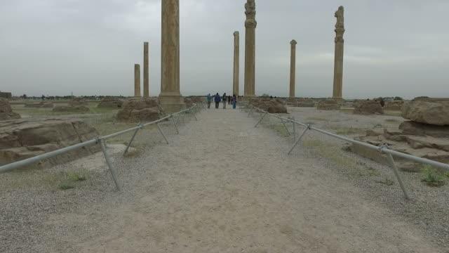 Walking around Persepolis, Iran