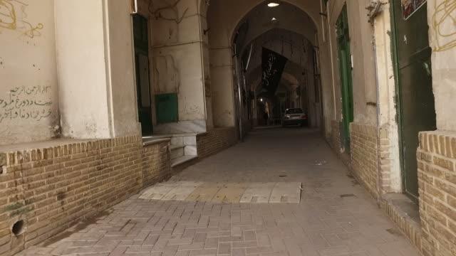 Walking around Yazd old city, Iran