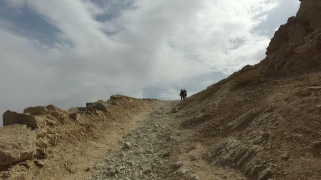walking around yazd tower of silence, iran - yazd province stock videos & royalty-free footage