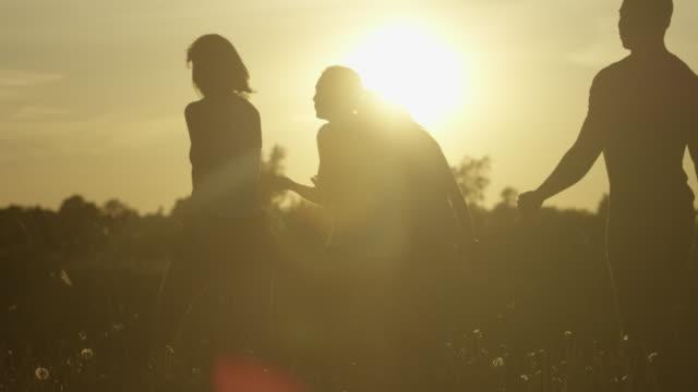 walking at dusk - the way forward stock videos & royalty-free footage