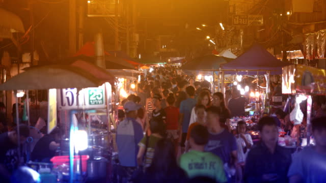 Fuß in der Nachtmarkt