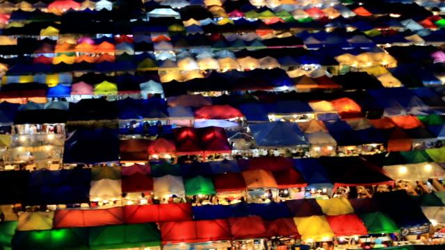PAN:Walking at Night market