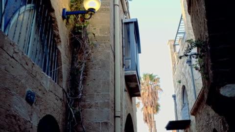 徒歩圏内に 2 つの古代の東洋の街 - ジャファ点の映像素材/bロール