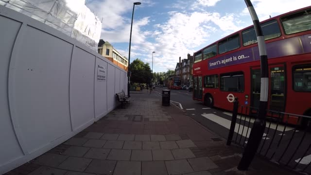 walking down city street in london - zebra crossing stock videos & royalty-free footage