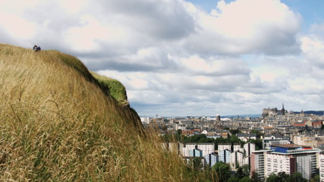 Walking for View of Edinburgh