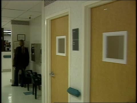 pov of walking halls at a rehabilitation centerin marina del ray ca - rehabilitation center stock videos & royalty-free footage
