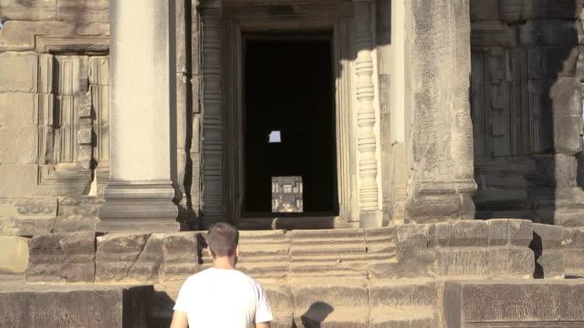 Walking in a Temple