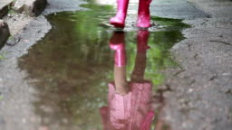 Walking In Puddles