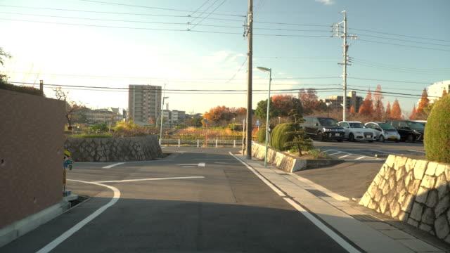名古屋市での農村の通りの歩行 - 村点の映像素材/bロール
