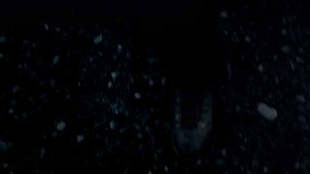 walking on black sand. close up on shoes - lace textile stock videos & royalty-free footage