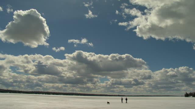 walking on ice - keithmckenzie stock videos & royalty-free footage