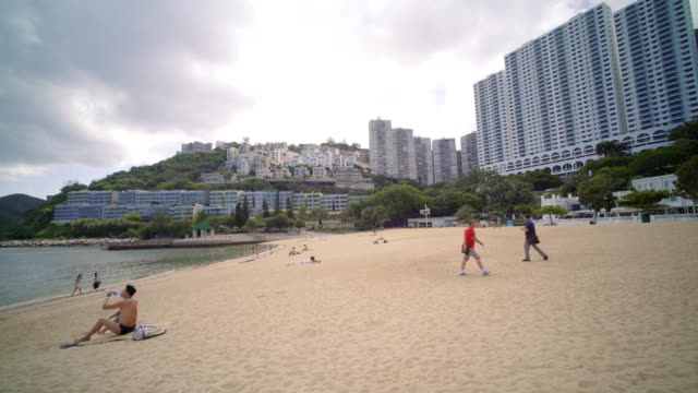Walking on Repulse Bay Hong Kong Beach