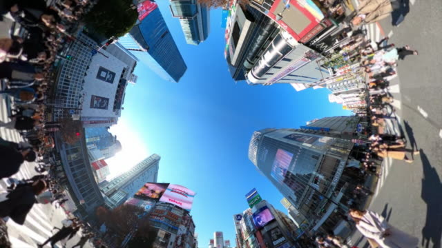 walking on shibuya crossing - city life stock videos & royalty-free footage