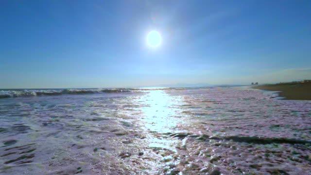 Walking  on the beach -4K-